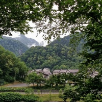 Japan Road Trip 2014 Summer: The Nature of Sounkyo Gorge