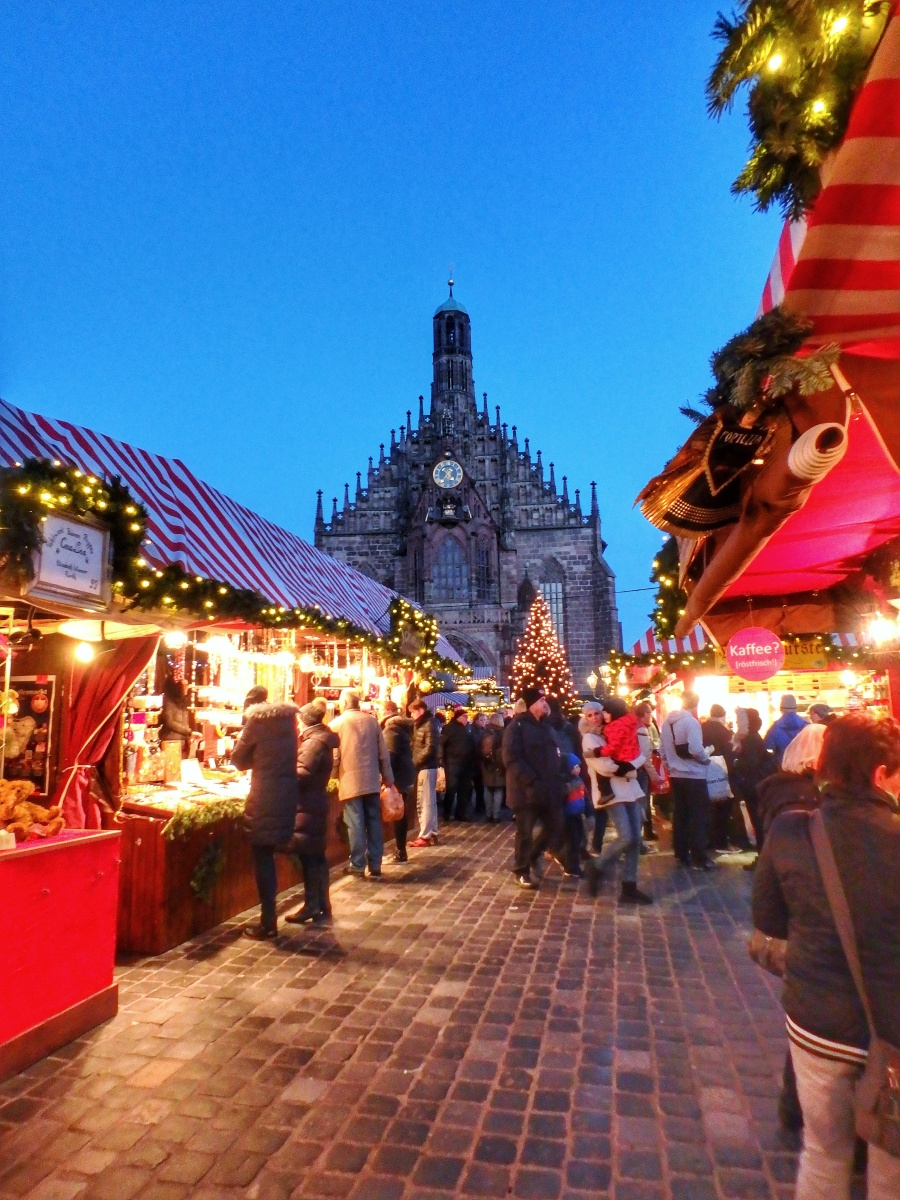 Beary Imperial Kebab: Nuremberg Castle, Christmas Market & Shopping [Review]