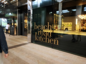 Beach Road Kitchen at JW Marriot off Singapre's CBD. Dinner buffet served here with spread of seafood and delicacies.