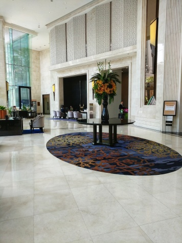 Terminal 21 Hotel Grande Centre Point lobby at Bangkok Thailand