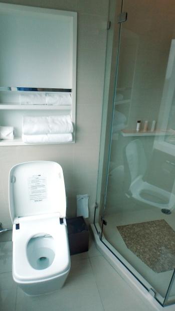 Terminal 21 Hotel Grande Centre Point spacious toilet